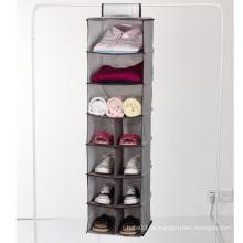 calcetín de ropa interior organizador de accesorios para Closet con gancho de bucle