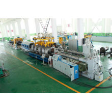 high speed double pvc pipe making machine