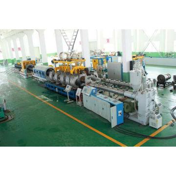 tubo de pvc doble de alta velocidad que hace la máquina