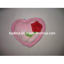 Valentine Kissen Herz gefülltes Kissen Plüsch Kissen