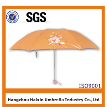 O guarda-chuva de dobramento o mais barato 3 da beleza de alta qualidade para presentes da promoção