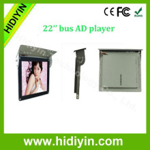 22 inch lcd bus video advertising bus lcd player