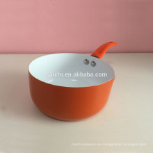Cacerola alta de cerámica de aluminio