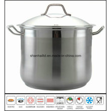 Stainless Steel Deep Stockpot Kitchenware