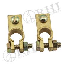 Suministre el fabricante puro del clip del terminal de la batería de los conectores de la batería de coche del cobre / del latón