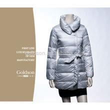 Abrigos y abrigos del invierno de la chaqueta del ganso abajo