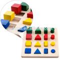 Горячая распродажа деревянный блок куб головоломка 3D