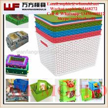 China Taizhou Plastic injection Rectangular Home Storage Basket Mould & Mold