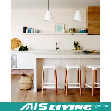 Muebles de gabinete de cocina de cristal de la mesa de comedor, con el estándar australiano (AIS-K987)