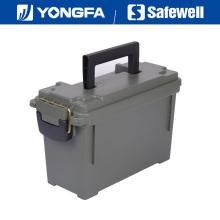 . Munição de caixa de bala plástica de cal 30 pode para seguro de arma