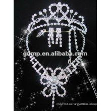 Самый последний bridal комплект ювелирных изделий венчания (GWJ12-528)