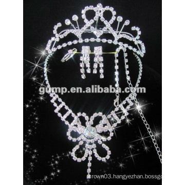 Latest bridal wedding jewelry set (GWJ12-528)
