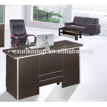 Solid oak wood office furniture desk, Small size office desk for stuff in open office