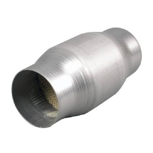 High Flow Spun Catalytic Converter