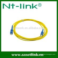 Cordón de remiendo vendedor caliente de la fibra óptica del SC de Netlink