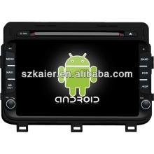 Système Android dual core lecteur dvd de voiture pour KIA 2014 K5 / Optima avec GPS / Bluetooth / TV / 3G / WIFI