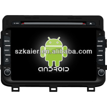 Android system dual core car dvd player for KIA 2014 K5/Optima with GPS/Bluetooth/TV/3G/WIFI