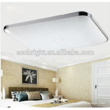 bela qualidade superior! levou luz de painel do teto da Praça de luminária sala nobre moda levou luz de teto