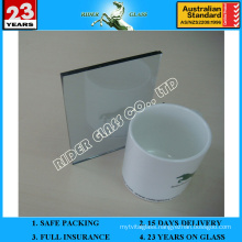 3-8mm Low Emission Coated Glass with AS/NZS 2208