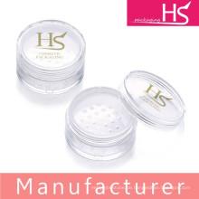Großhandel kosmetische Kunststoff lose Pulver Gläser