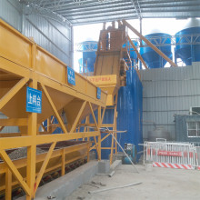 HZS75 concrete batching plant in japan layout drawing