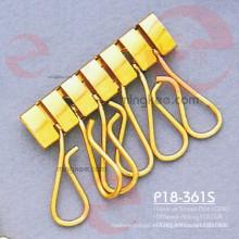 Llavero profesional para la fabricación de cuero titular de la llave de metal