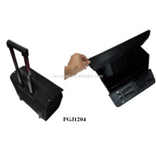 waterproof rolling tool bag with built-in extendable handle