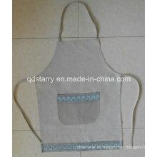 Delantal Cocina Tela de Lino St1781