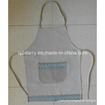 Kitchen Apron Linen Fabric St1781