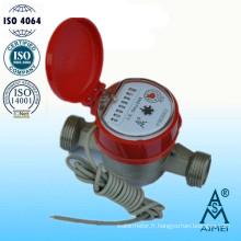 Compteur d'eau Jet unique Type sec laiton chaud Gallon