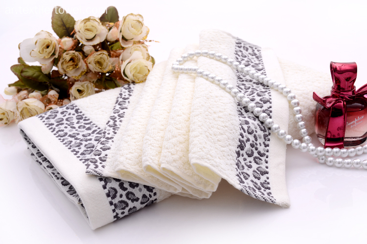 Pure Cotton Animal Decorative Bath Towel Sets