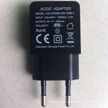 5В 1.2 Европы штекер путешествия USB зарядное устройство для iPhone 4 4S 5 6 плюс