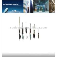 Sujetador de cuerda soldado para elevador, sujetadores de cable de elevador