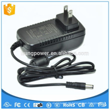 YHY-18001500 18v 1.5a 27w adaptador de corriente de pared DC