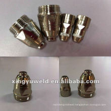 welding electrode and nozzles