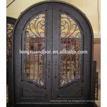 Diseños baratos de puertas de hierro forjado, puertas de puertas de hierro forjado usadas
