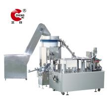Máquina de impresión de almohadilla rotativa de barril de jeringa
