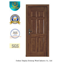 Classic Water Proof MDF Door with Solid Wood for Interior (xcl-832)