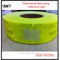 Diamond grade flouresent lime green reflective tape