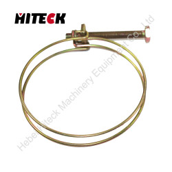 High quality different type iron saddle hose clamp