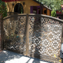 Outdoor Metal Fence Gate