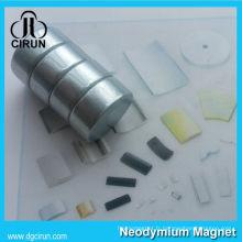 Aimants d'anneau de matériaux magnétiques de cercle de haute température