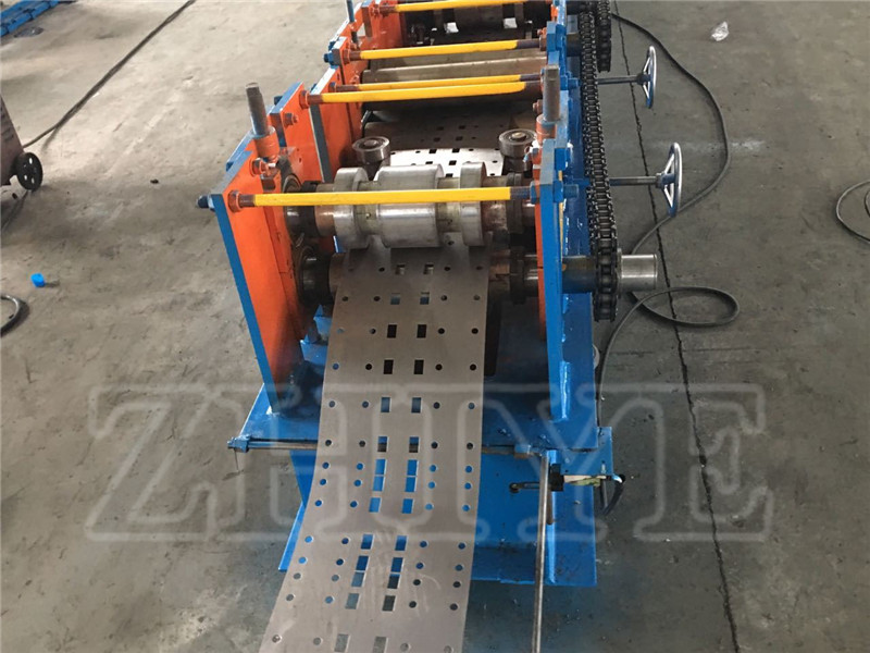 Store Shelf Upright Pillar Making Machine