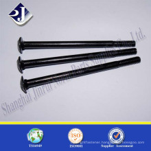 Black Zinc Square Neck Galvanized Carriage Bolt