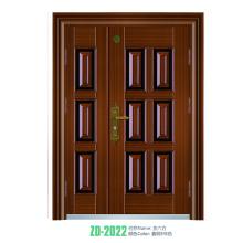 Einzeltür Design Eisen Tür Türen geschmiedet Eisen Einzel-