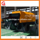 Chinese manufacturer Small Portable Diesel Cement Grout Pump with S Valve