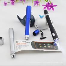 Пластиковая мини-ручка с факелом
