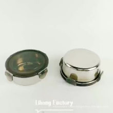 Stainless Steel Food Fresh Storage Container /Round Lunch Bento box with lock/ Serving Bowl With Lid