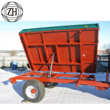 Mobile Car Trailer Match Small Farm Tractor
