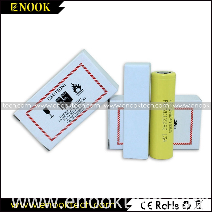 Low price LG HE4 yellow mod battery